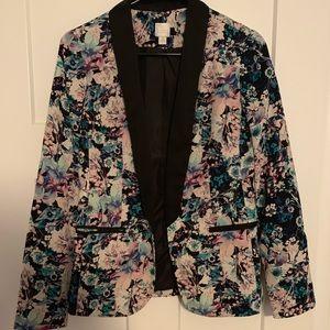 Floral blazer! Beautiful!